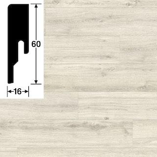 MeisterWerke Steckfußleiste Polareiche 6994 - 20 PK