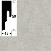 MeisterWerke Steckfußleiste Beton 7321 - 8 PK
