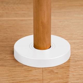 MeisterWerke Heizkörper-Rosetten Weiß 2043-Kunststoff