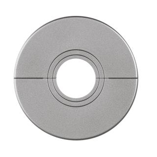 MeisterWerke Heizkörper-Rosetten Chrom 2035-Kunststoff