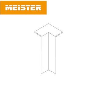 MeisterWerke Zubehör Innenecke 8PK/18PK Weiß (selbstklebend)