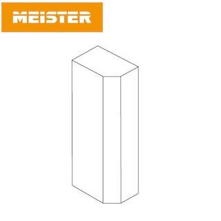MeisterWerke Zubehör Endkappe 8PK/18PK Weiß (selbstklebend)