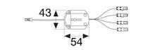 MeisterWerke Bluetooth 4.1 LED-Funkempfänger 0,1-35 Watt Gleichspannung