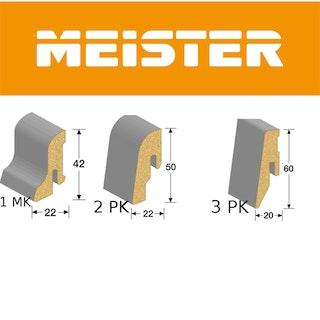 MeisterWerke Steckfußleiste Eiche Nova 6413 1MK / 3PK