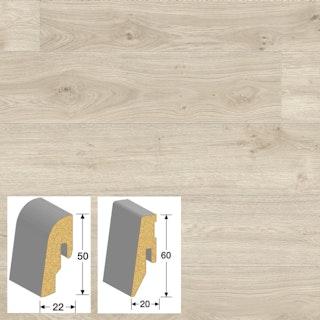 MeisterWerke Steckfußleiste Eiche polar 6381 3PK