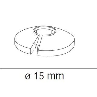 MeisterWerke Heizkörper-Rosetten Ahorn kanadisch 027-Echtholz/Massiv