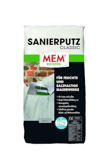 MEM Sanierputz Classic grau
