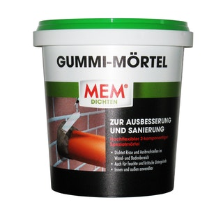 MEM Gummi-Mörtel