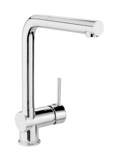 Sanitop Design Einhandmischer BONOLA -Geschirrbrause- chrom