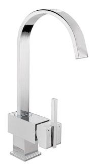 Sanitop Design Einhandmischer CIMIANO für Spüle chrom