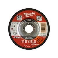 Milwaukee Schruppscheibe 115x6 mm PRO+ 4932451501
