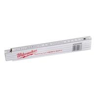 Milwaukee Gliedermaßstab Holz 2m weiß (1) 4932459302