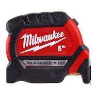 Milwaukee Premium-Bandmaß 5 m,27 mm breit magnet. 4932464599