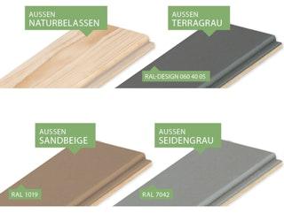 Karibu Holz-Musterpaket in allen Farben