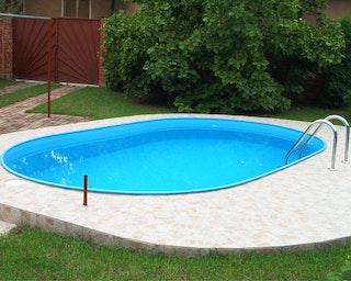 myPOOL Poolset Premium Ovalform mit Sandfilteranlage