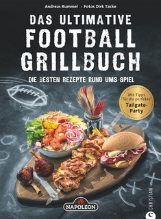 "NAPOLEON Grillbuch ""Das ultimative Football-Grillbuch"""