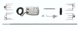 NAPOLEON Drehspieß-Set für LEX 605 & 730 / Charcoal Pro 605 (bis 25kg)