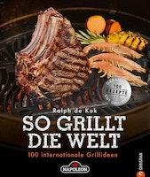 """NAPOLEON Grillbuch """"So grillt die Welt"""" von Ralph de Kok"""
