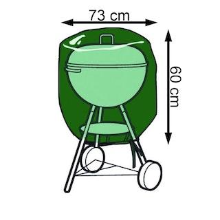 Nature Schutzhülle Rimini für Gartenmöbel Grill 100 g/m² Größe 60 x Ø 73 cm