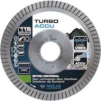 Nozar Diamant-Trennscheibe Turbo ACCU