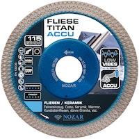 Nozar Diamant-Trennscheibe Fliese Titan ACCU
