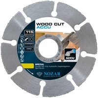 Nozar Hartmetall-Trennscheibe Wood Cut ACCU