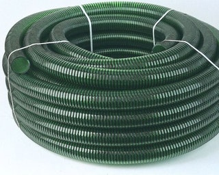 Oase Spiralschlauch grün - ganze Rolle