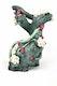 biOrb Blumenbaumstampf Ornament grün