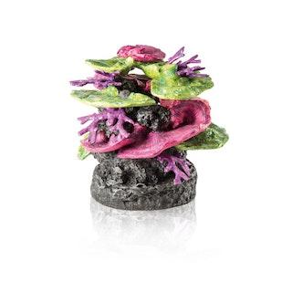 biOrb Korallen Fels Ornament grün-lila