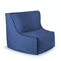 OUTBAG Outdoor Sitzsack PIECE mit Zipper Plus seablue