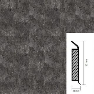 objectflor Steckfußleiste Silver Slate