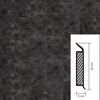 objectflor Steckfußleiste Grey Slate