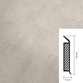 objectflor Steckfußleiste White Metalstone