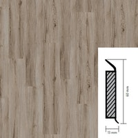 objectflor Steckfußleiste Natural Oak Grey