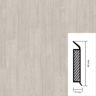 objectflor Steckfußleiste White Saw Cut Ash