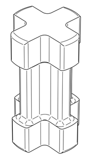 OSMO Einschlagwerkzeug (für Pfostenanker zum Einschlagen)