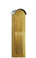OSMO Pfostenabdeckung Edelstahl für Holzpfosten