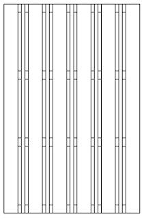 OSMO Multi-Fence Struktur 116x178 cm
