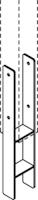 OSMO Schallschutz Forsdal - Pfostenanker