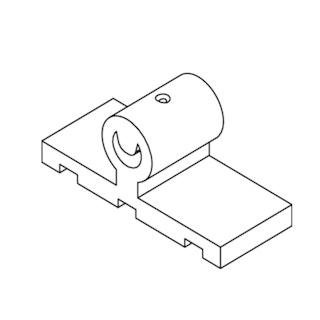 OSMO Terrassen-Zubehör SenoFix Clip100 Stück- Für Thermoesche