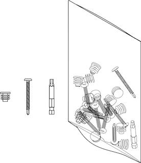 OSMO HPL Zubehörbeutel für 7 Aluminiumprofile