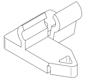 OSMO Terrassen-Zubehör TeNi Clip 100 Stück- Für Thermoesche Alu-UK