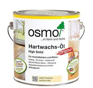 Osmo Hartwachs-Öl ORIGINAL für Fußböden-3011 Farblos Halbmatt