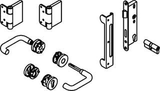 OSMO Beschläge für Einzeltore