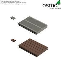 OSMO MULTI-DECK BPC-Terrassendiele Vollprofil DUNKELBRAUN-genutet oder geriffelt