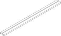 OSMO Forsdal - Abschlussprofil für 28 und 45 mm Bohlen