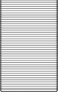 OSMO Sichtblende Juel A Lärche - geschlossen 113x185 cm