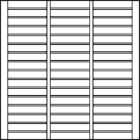 OSMO Sichtblende Rondo - geschlossen 178x178 cm
