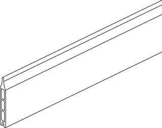 OSMO Multi-Fence Einzelprofil mit Alu-Kern