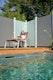 OSMO Glasscheibe Cremeweiß 89 x 178 cm